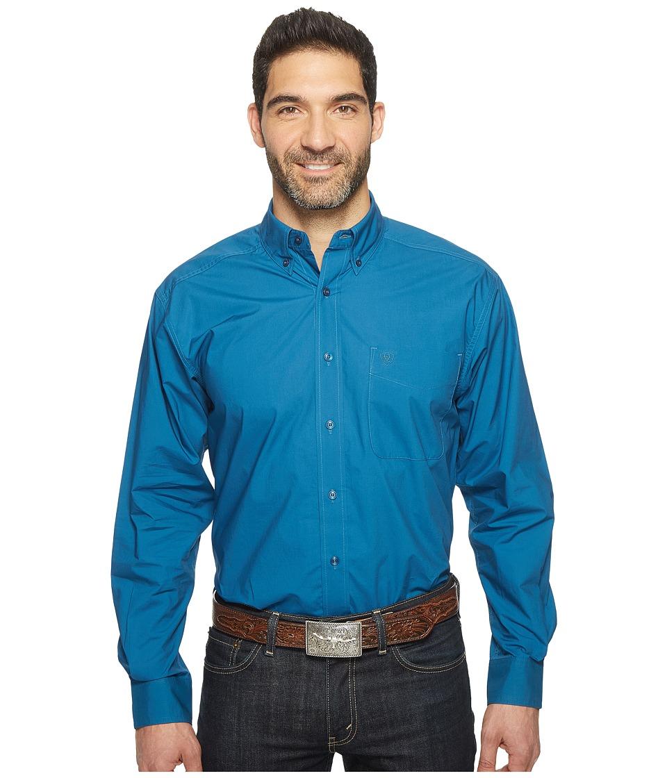 Ariat - Alden Shirt (Everland Teal) Men's Long Sleeve Button Up
