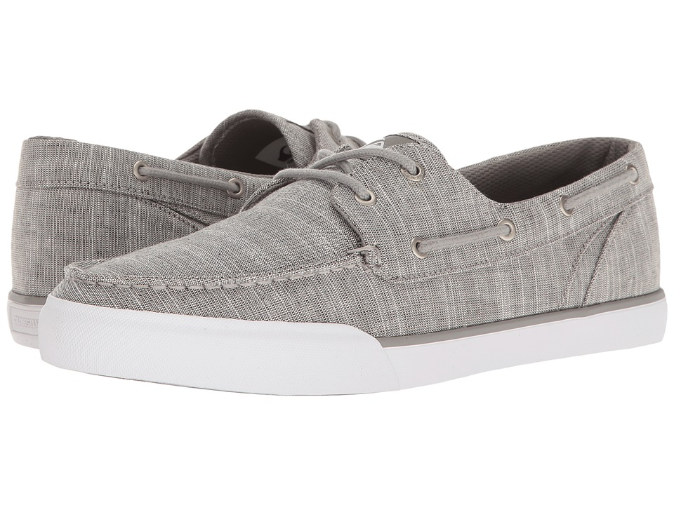 Quiksilver - Spar (Grey/Black/White) Men's Skate Shoes
