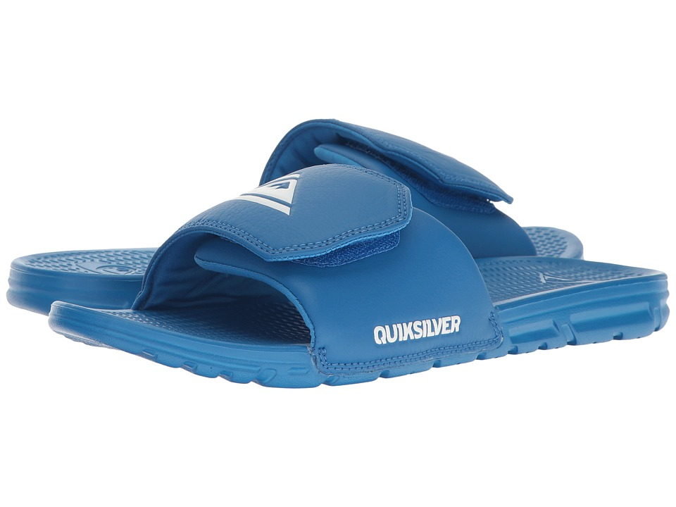 Quiksilver - Shoreline Adjust (Blue/Blue/Blue) Men's Slide Shoes