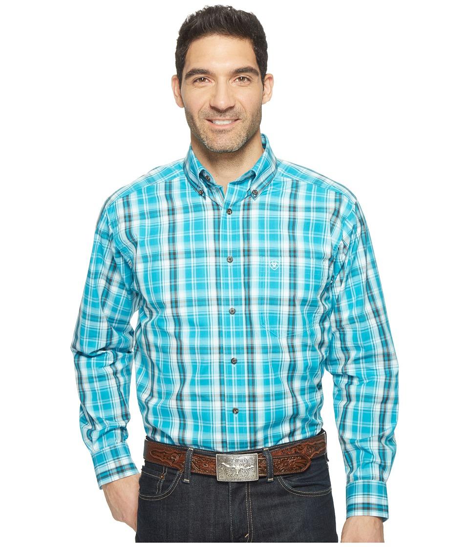Ariat - Everett Shirt (Multi) Men's Long Sleeve Button Up