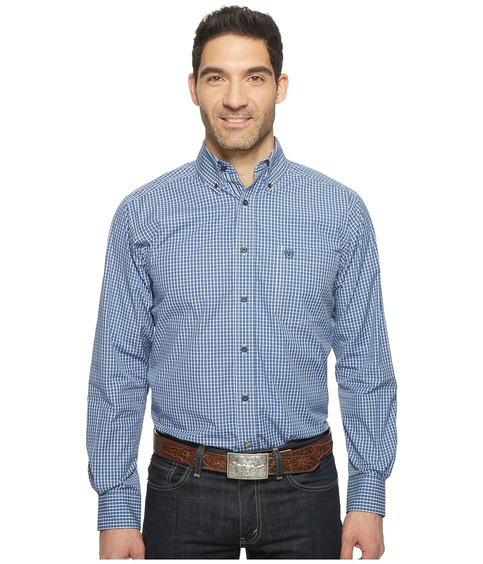Ariat - Cole Shirt (Fresh Indigo) Men's Clothing