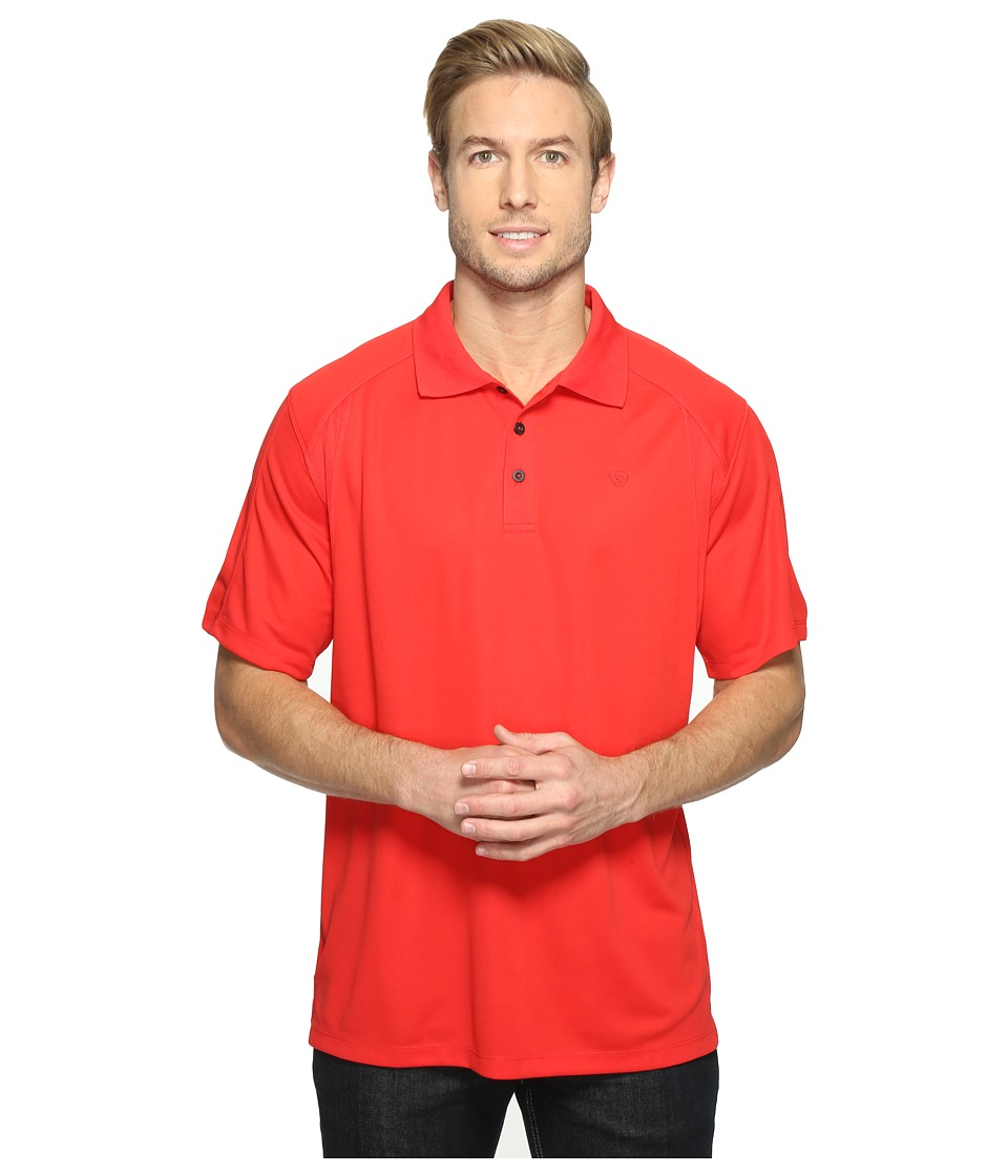 Ariat - AC Polo (Red Sun) Men's Clothing