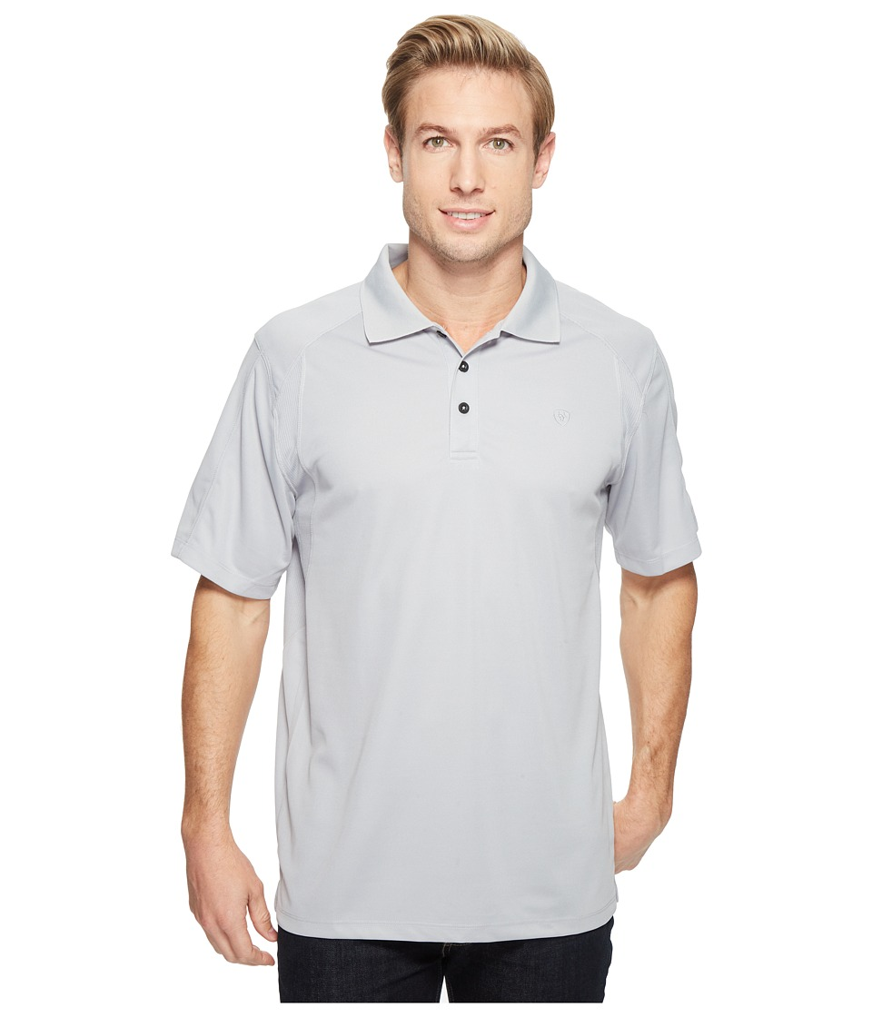 Ariat - AC Polo (Silver Lining) Men's Clothing