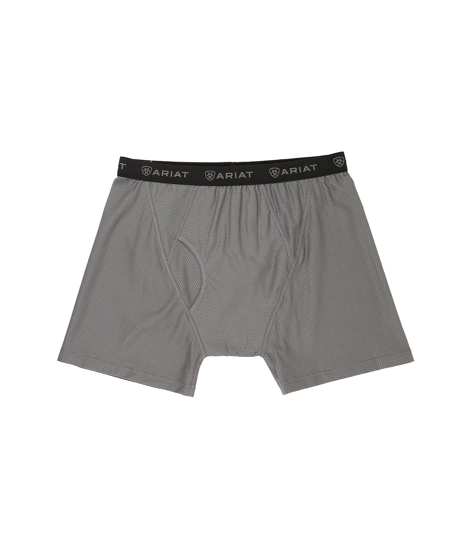 Ariat - Undertek Boxer (Grey) Men's Underwear