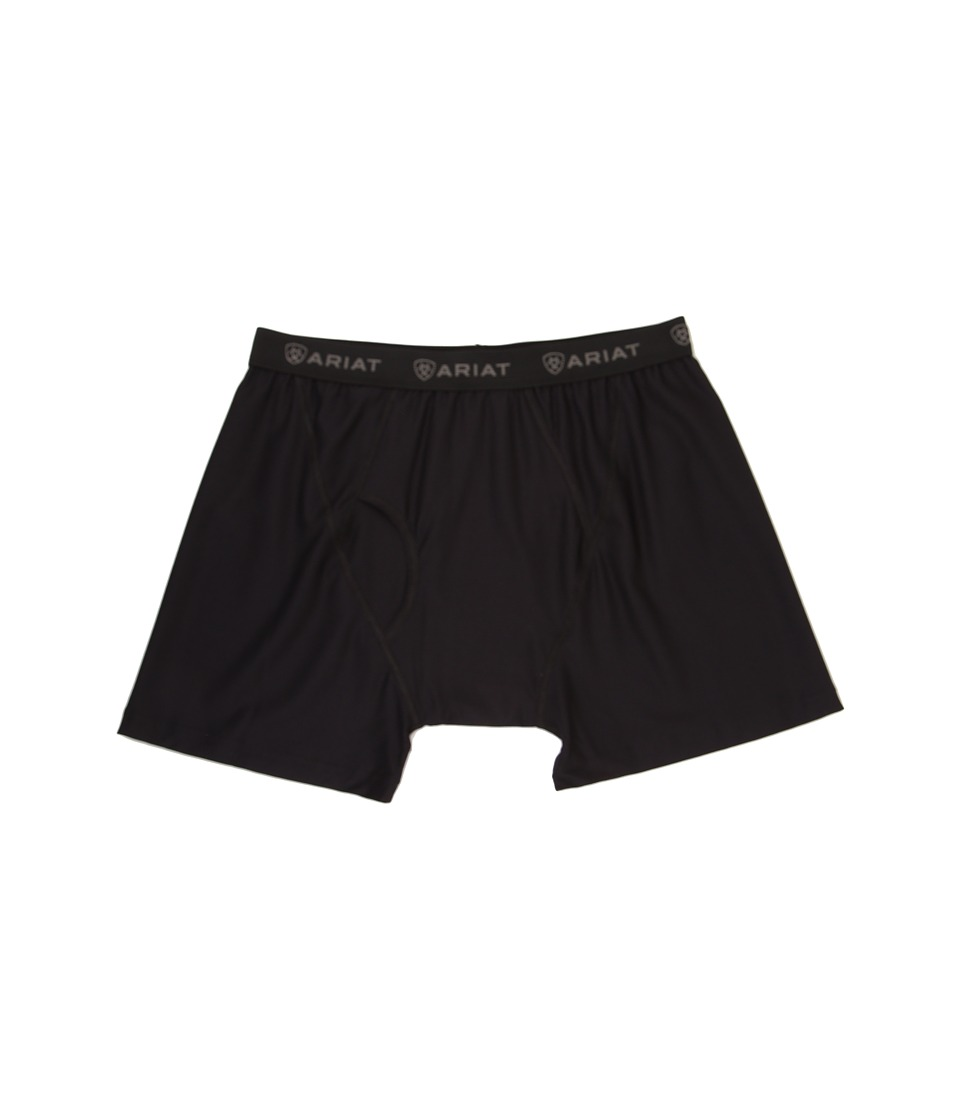 Ariat - Undertek Boxer (Black) Men's Underwear