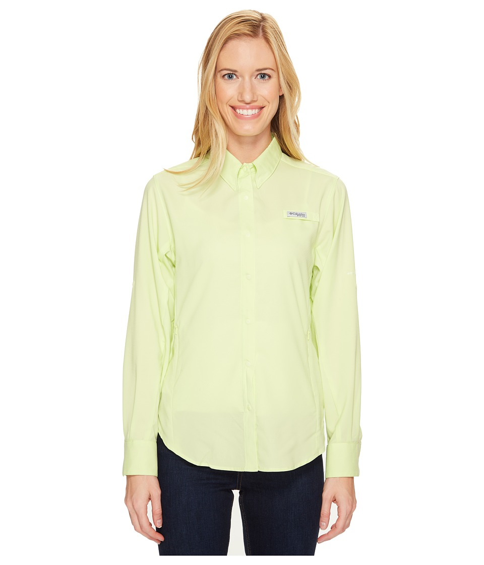 Columbia - Tamiamitm II L/S Shirt (Spring Yellow) Women's Long Sleeve Button Up