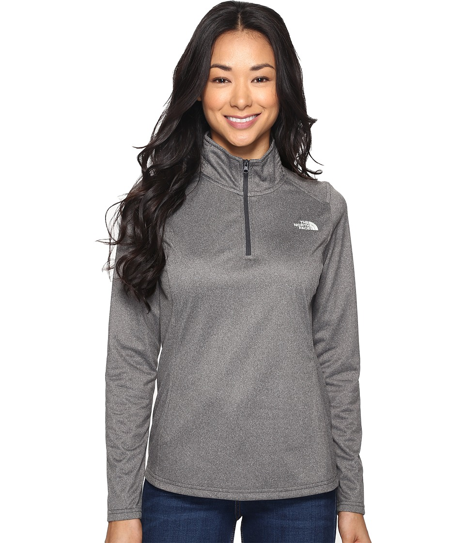 The North Face - Tech Glacier 1/4 Zip (TNF Dark Grey Heather (Prior Season)) Women's Coat