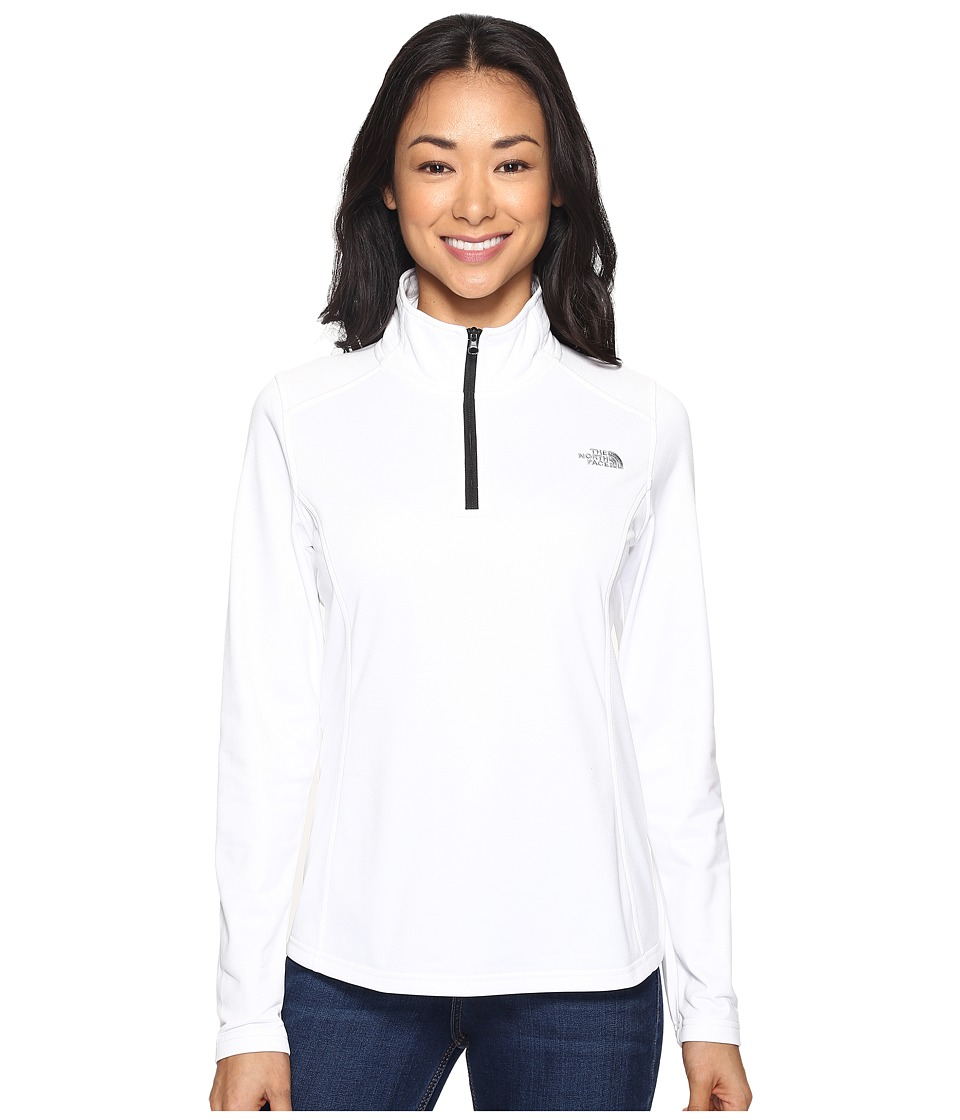 The North Face - Tech Glacier 1/4 Zip (TNF White (Prior Season)) Women's Coat