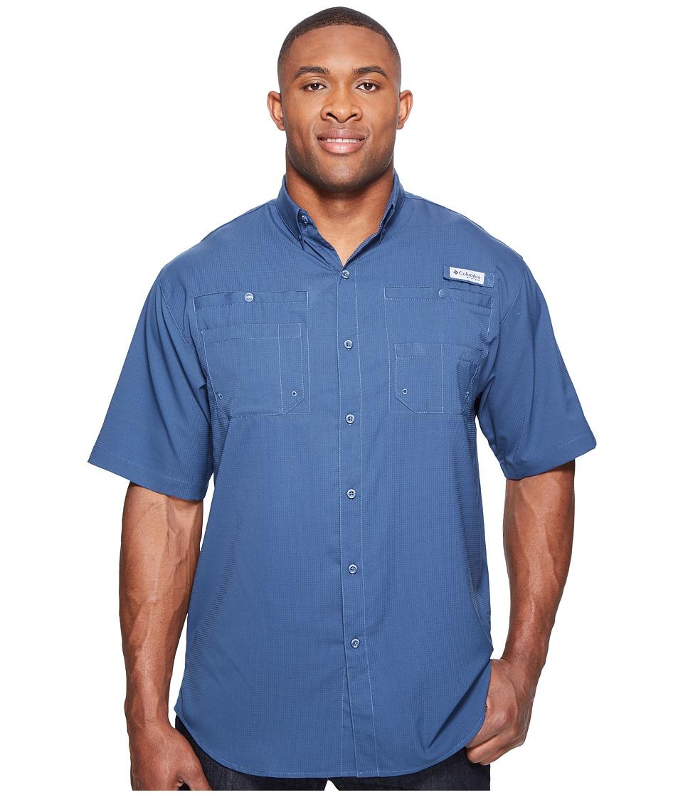 Columbia - Tamiamitm II S/S - Tall (Dark Mountain) Men's Short Sleeve Button Up