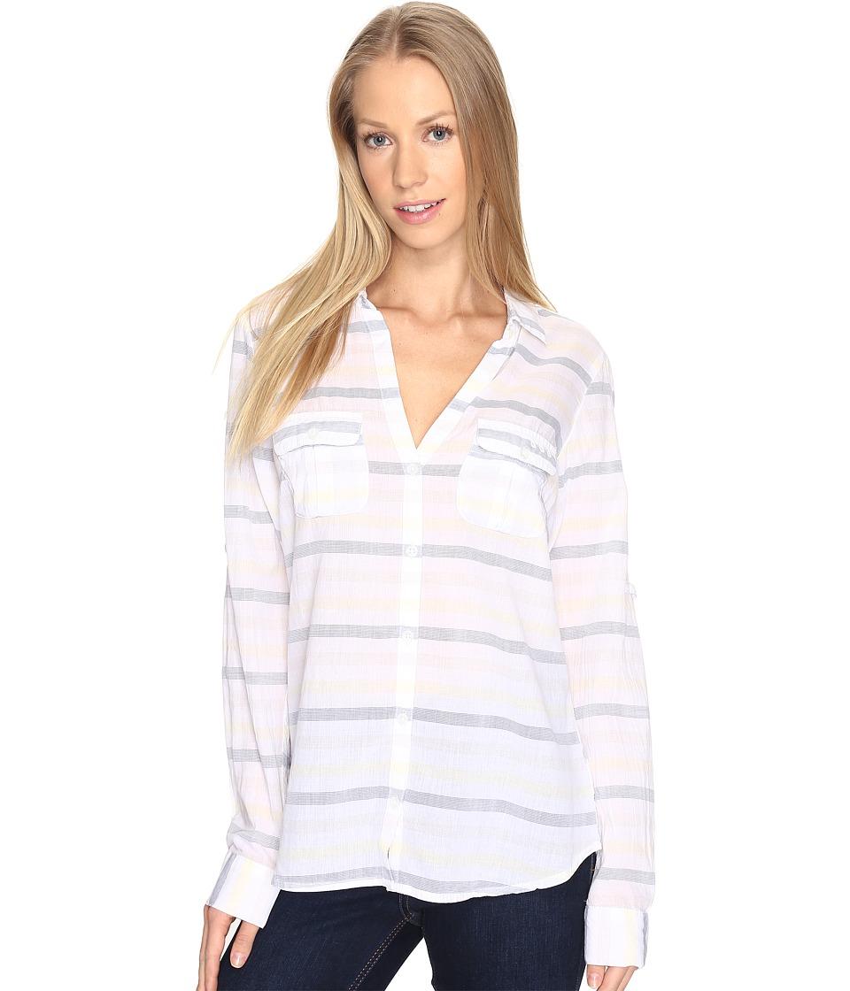 Columbia - Sun Driftertm L/S Shirt (Sunlit Stripe) Women's Long Sleeve Button Up