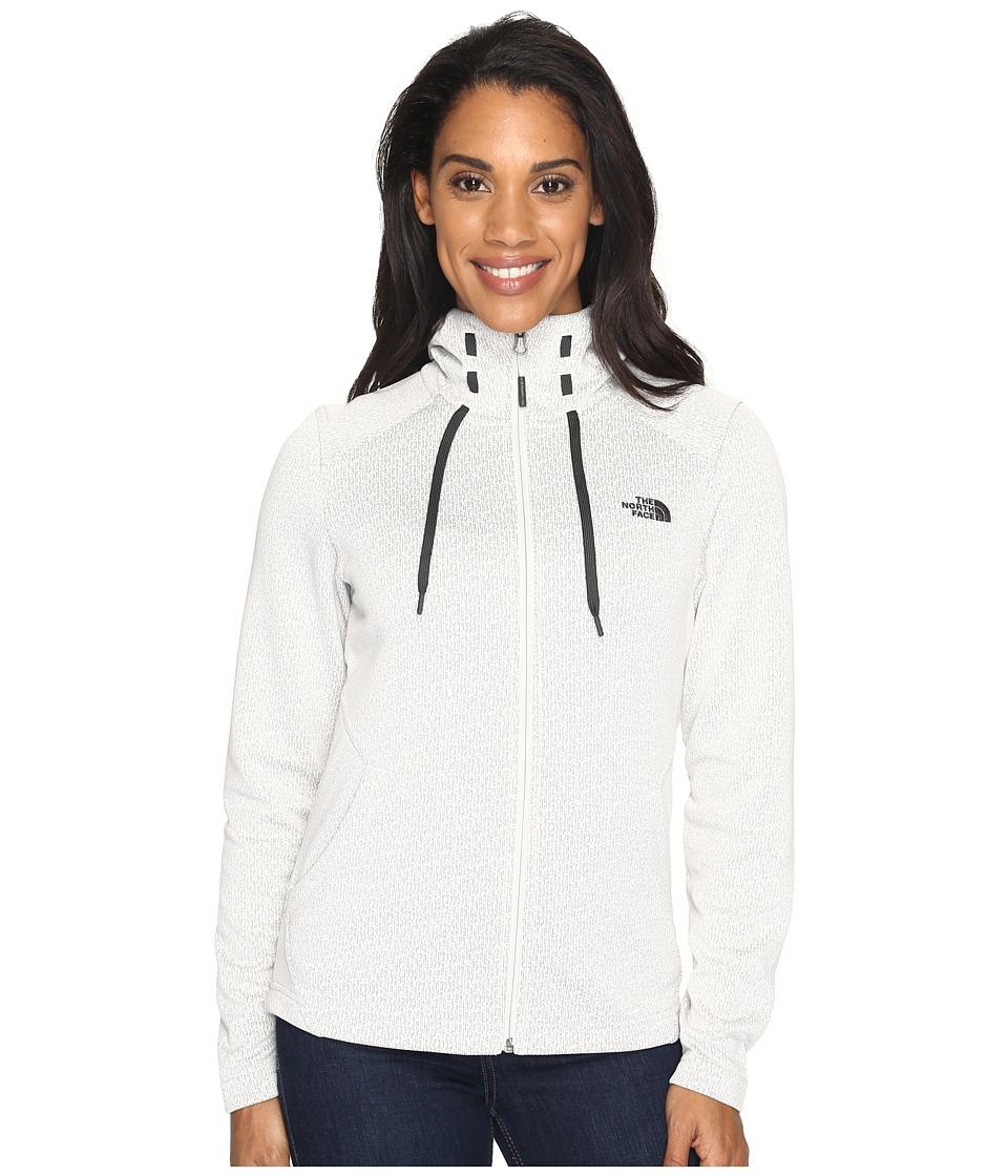 The North Face - Novelty Mezzaluna Hoodie (Moonlight Ivory Digi (Prior Season)) Women's Sweatshirt