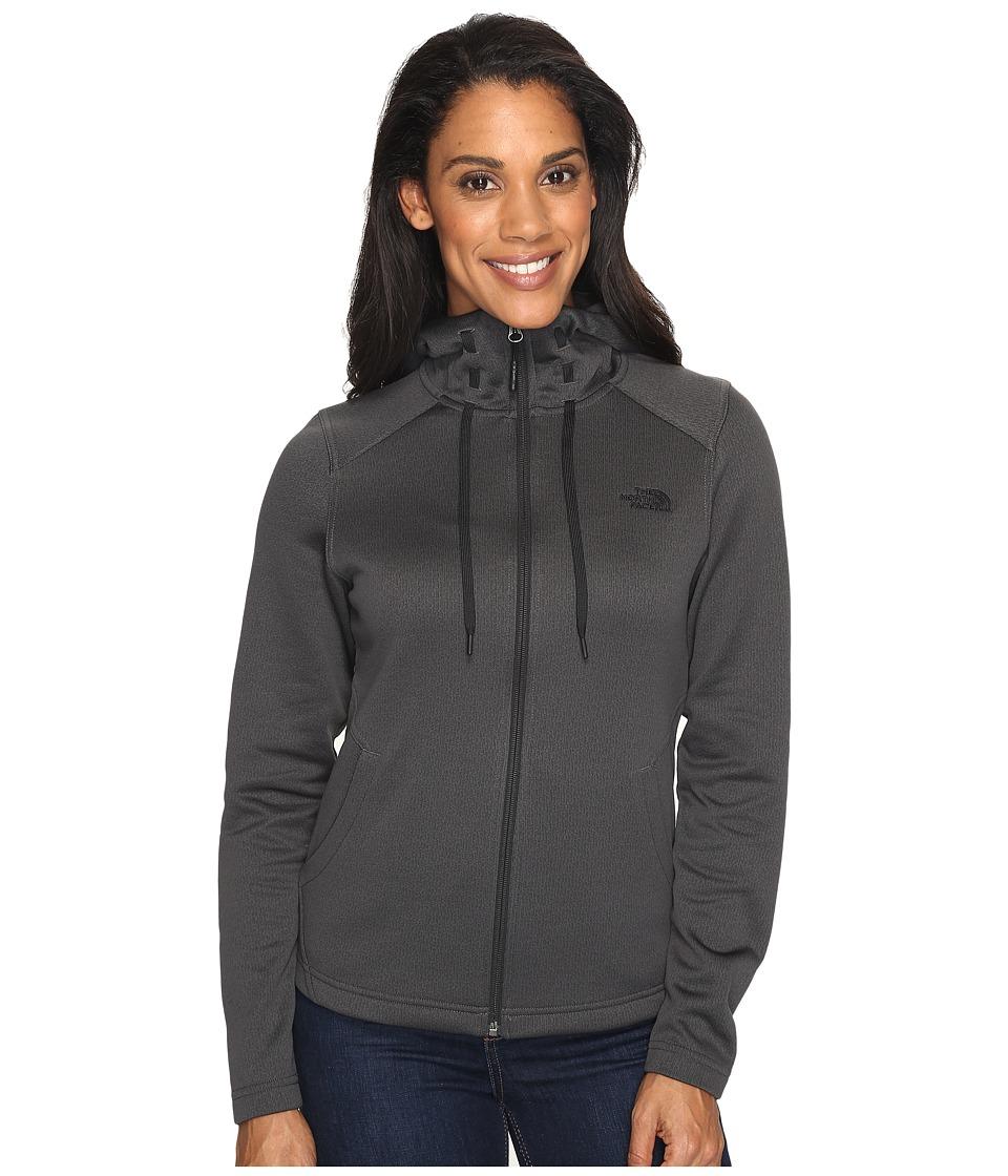 The North Face - Novelty Mezzaluna Hoodie (Asphalt Grey Digi (Prior Season)) Women's Sweatshirt