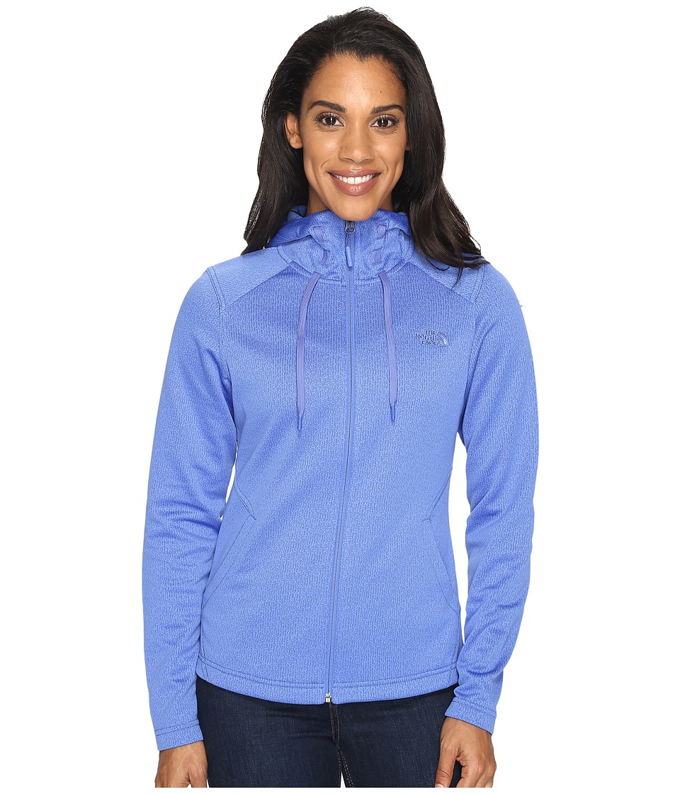 The North Face - Novelty Mezzaluna Hoodie (Amparo Blue Digi (Prior Season)) Women's Sweatshirt
