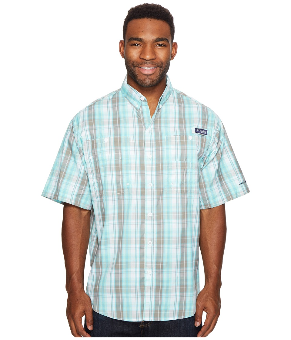 Columbia - Super Tamiamitm Short Sleeve Shirt (Kettle Multi Check) Men's Clothing