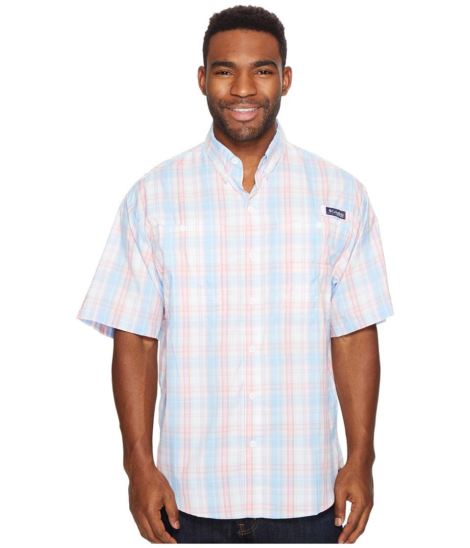 Columbia - Super Tamiamitm Short Sleeve Shirt (Sail Multi Check) Men's Clothing