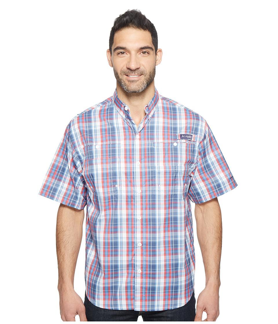 Columbia - Super Tamiamitm Short Sleeve Shirt (Skyler Multi Check) Men's Clothing