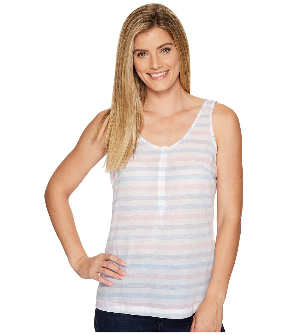 Columbia - Sun Drifter Tank Top (Harbor Blue Stripe) Women's Sleeveless