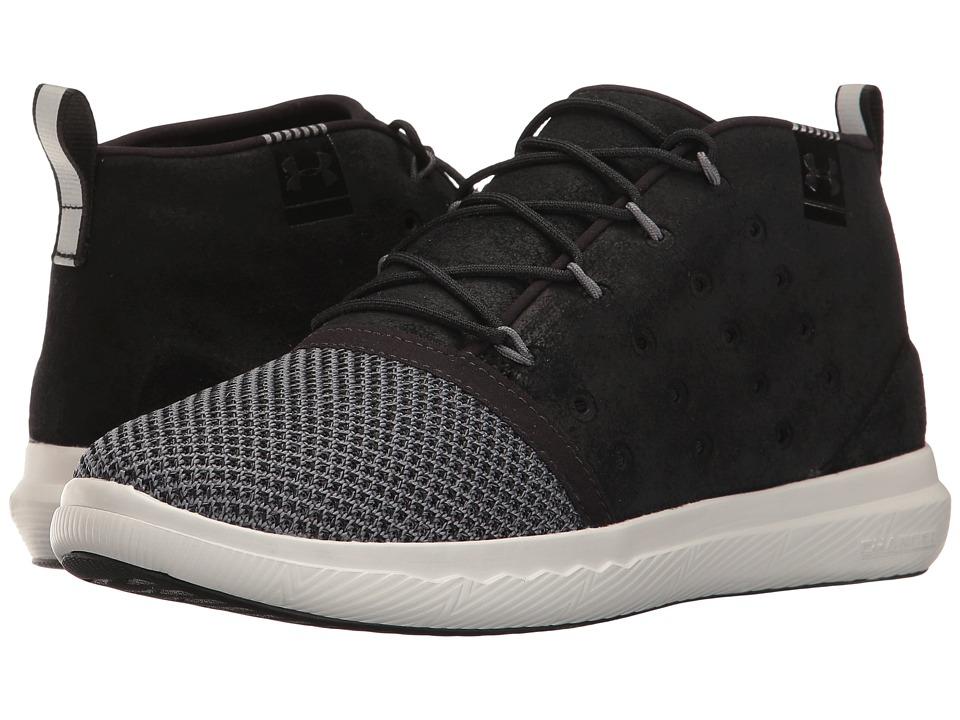 Under Armour - UA Charged 24/7 Mid Explosive (Black/Graphite/Black) Women's Shoes