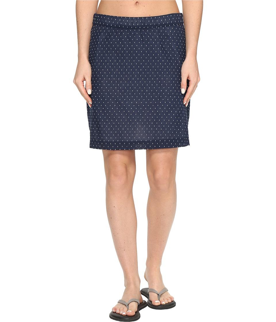 Columbia - Sun Driftertm Skirt (Collegiate Navy Dotty) Women's Skirt