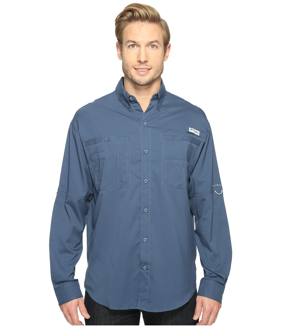 Columbia - Tamiamitm II L/S (Dark Mountain) Men's Long Sleeve Button Up