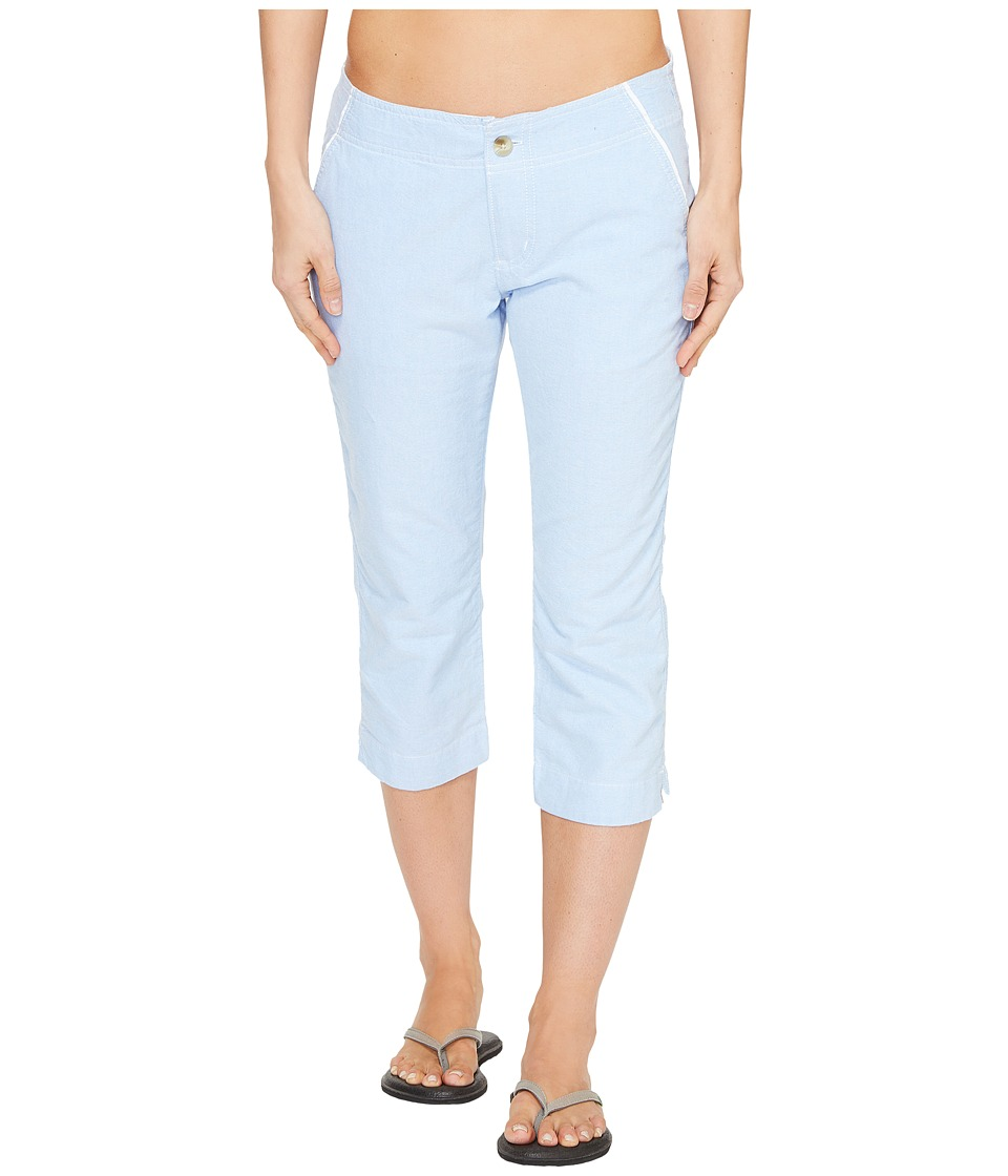 Columbia - Solar Fadetm Capri Pants (Harbor Blue) Women's Capri