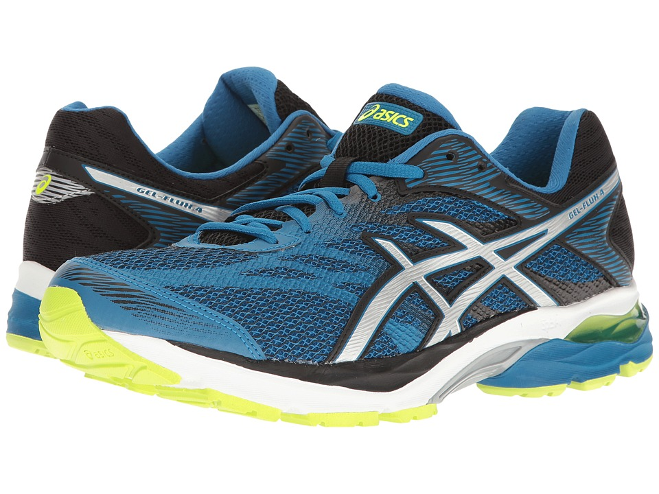 ASICS - GEL-Flux 4 (Thunder Blue/Silver/Black) Men's Running Shoes