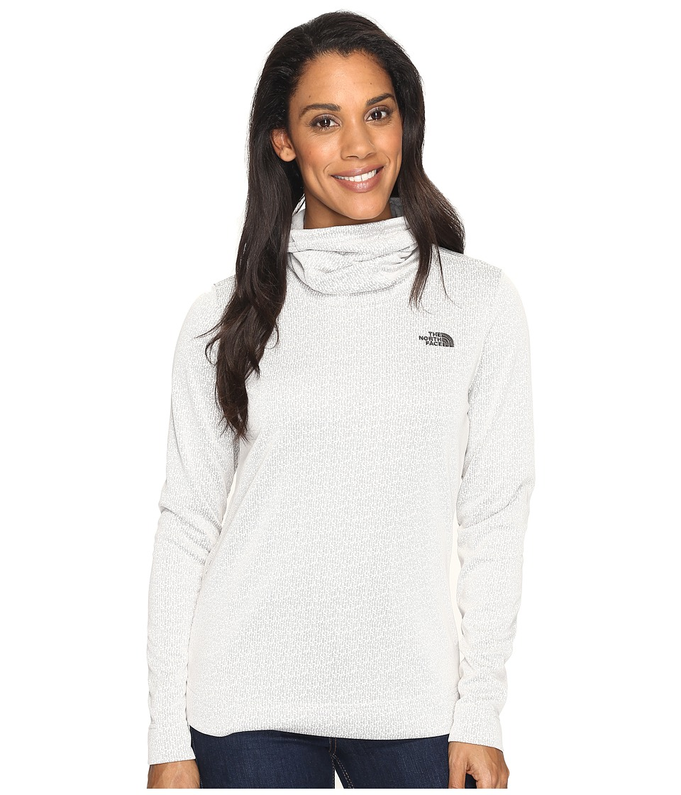 The North Face Novelty Glacier Pullover (Moonlight Ivory Digi (Prior Season)) Women