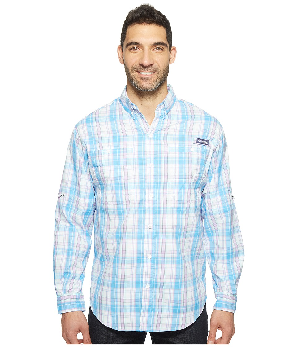 Columbia - Super Tamiamitm Long Sleeve Shirt (Yacht Multi Check) Men's Long Sleeve Button Up