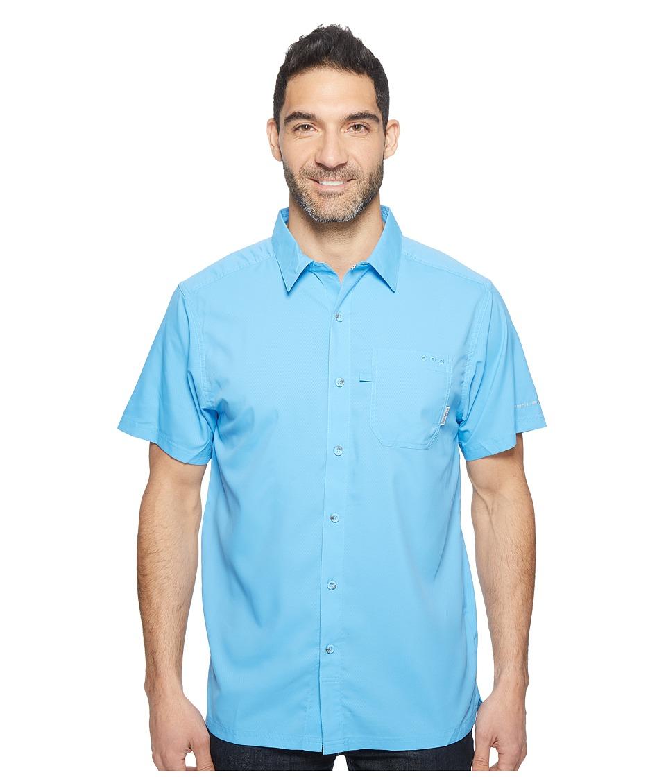 Columbia - Slack Tidetm Camp Shirt (Yacht) Men's Short Sleeve Button Up