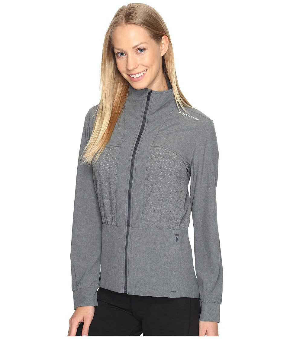 Brooks - Fremont Jacket (Heather Asphalt) Women's Coat