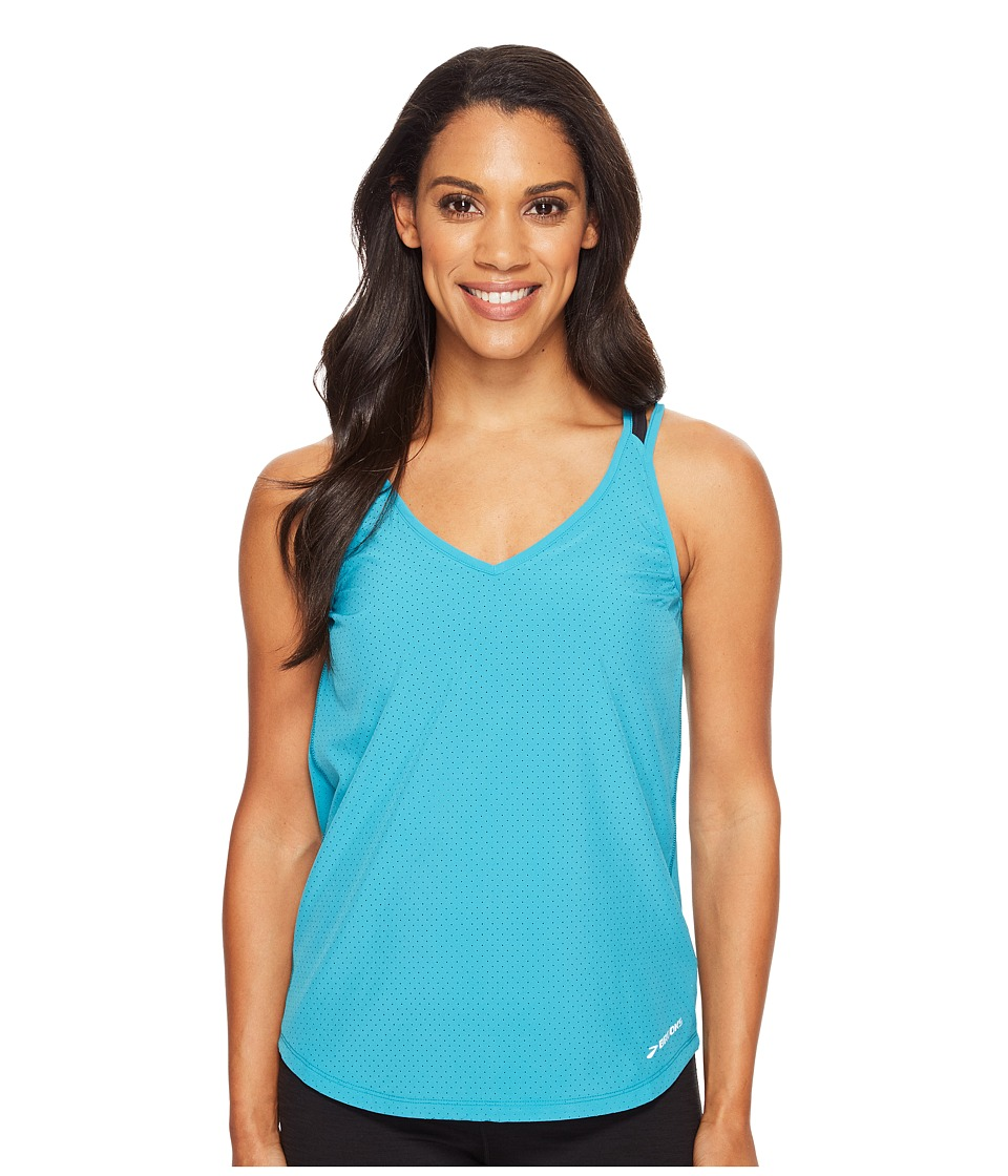 Brooks - Fremont Tank Top (Tile) Women's Sleeveless