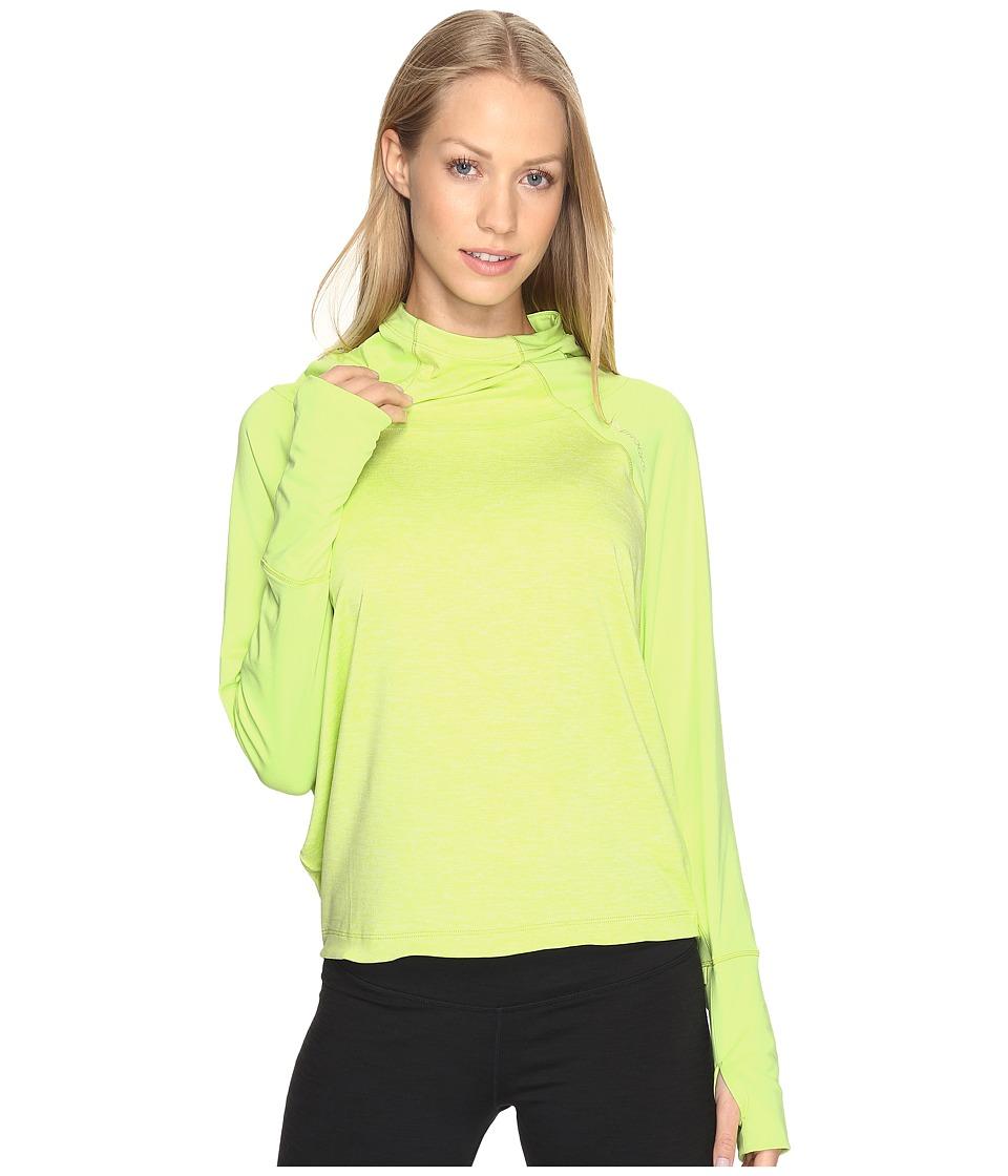 Brooks - Dash Hoodie (Aloe) Women's Sweatshirt