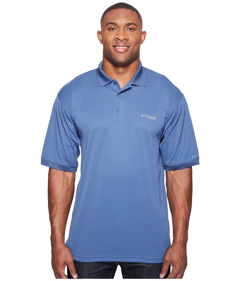 Columbia - Perfect Casttm Polo - Extended (Dark Mountain) Men's Clothing