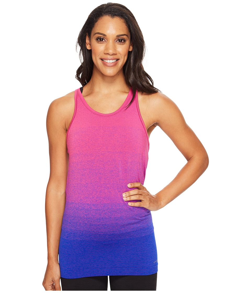 Brooks - Streaker Racerback (Cobalt/Petal) Women's Sleeveless