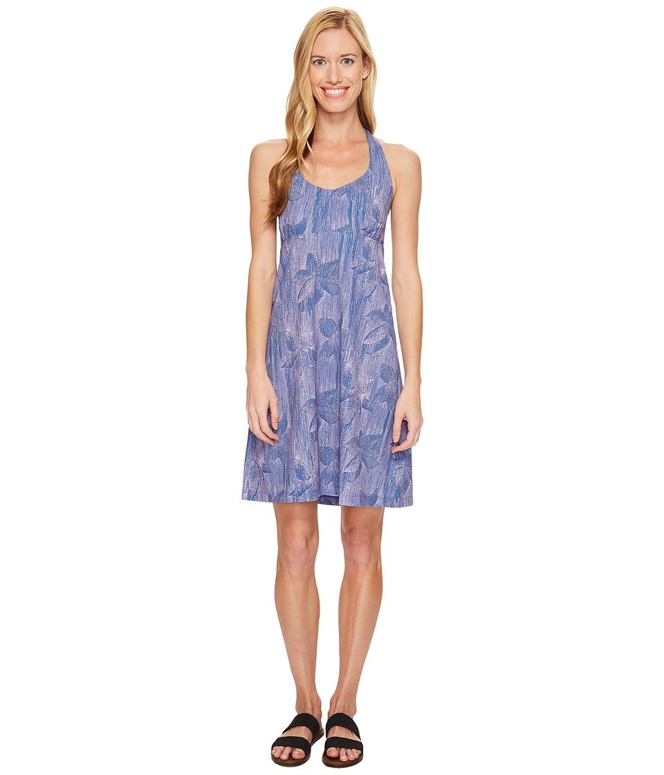 Columbia Armadaletm Halter Top Dress (Bluebell Hazy Floral) Women