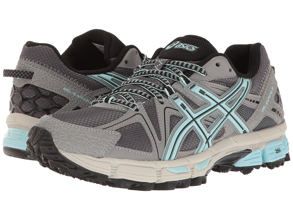 ASICS - Gel-Kahana(r) 8 (Titanium/Clearwater/Silver) Women's Running Shoes