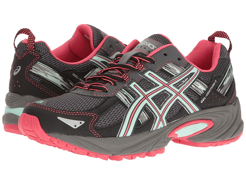 ASICS - Gel-Venture(r) 5 (Carbon/Diva Pink/Bay) Women's Running Shoes