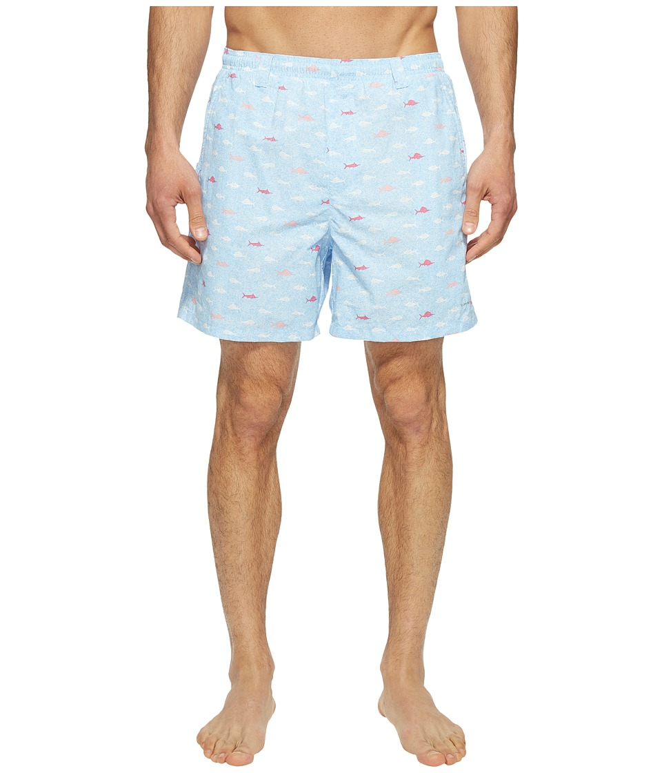 Columbia - Backcast IItm Printed Trunk (Sail Fish School) Men's Shorts