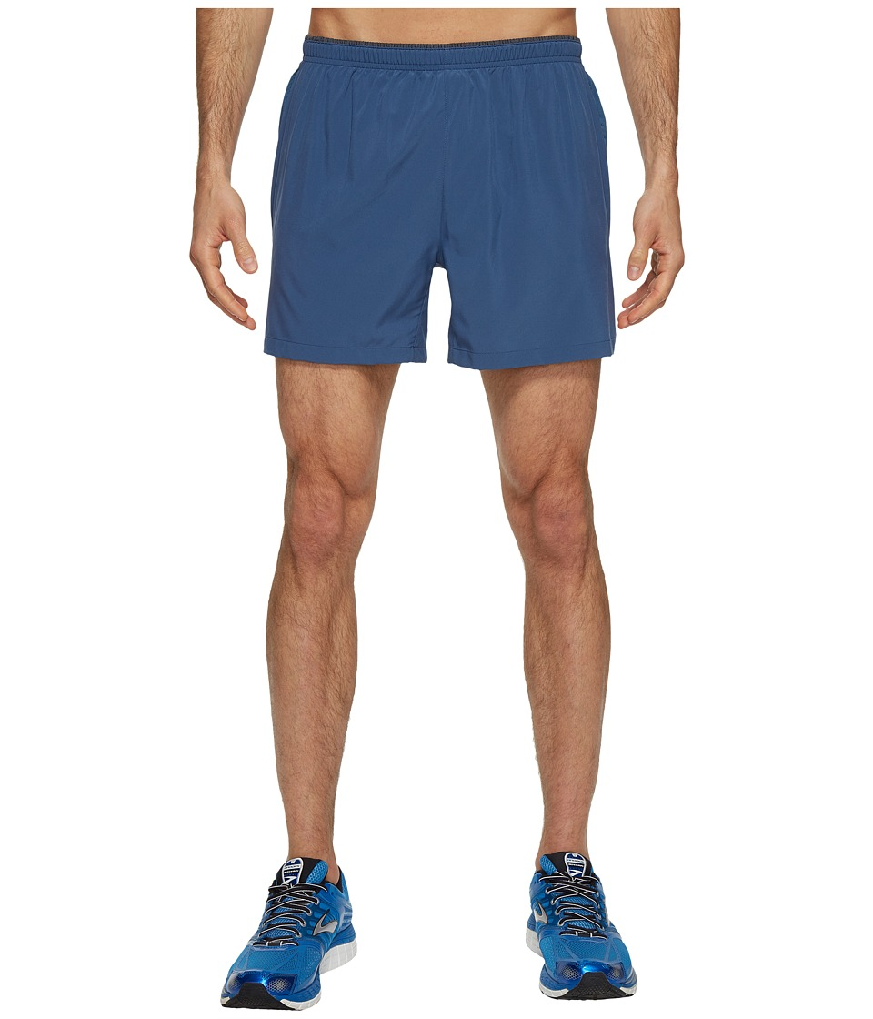 Brooks - Sherpa 5 Shorts (Ink) Men's Shorts