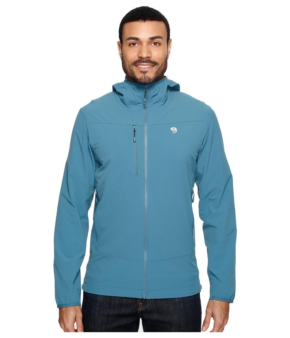 Mountain Hardwear - Super Chockstone Hooded Jacket (Cloudburst) Men's Coat