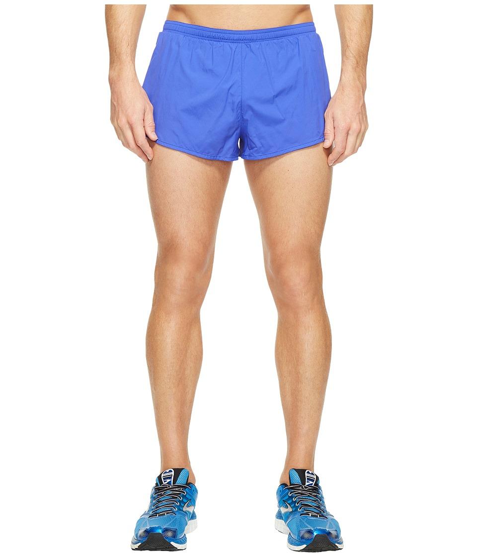 Brooks - Sherpa 2 Split Shorts (Cobalt) Men's Shorts