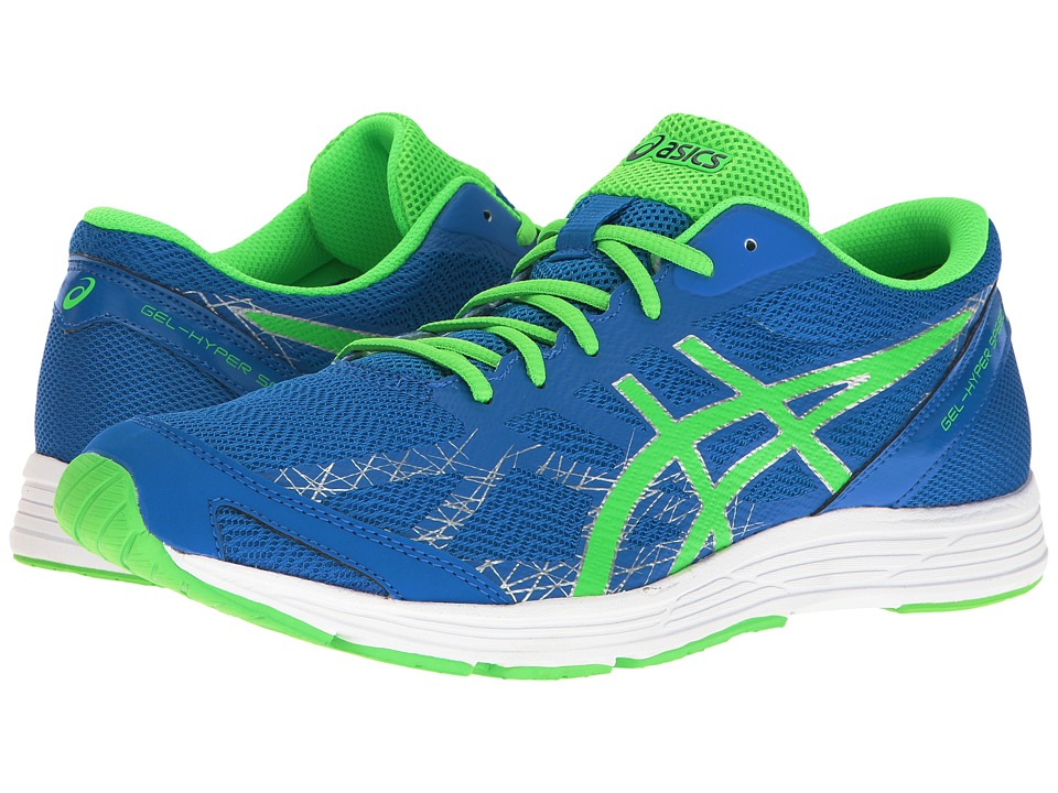 ASICS - GEL-Hyper Speed 7 (Electric Blue/Green Gecko/Indigo Blue) Men's Running Shoes