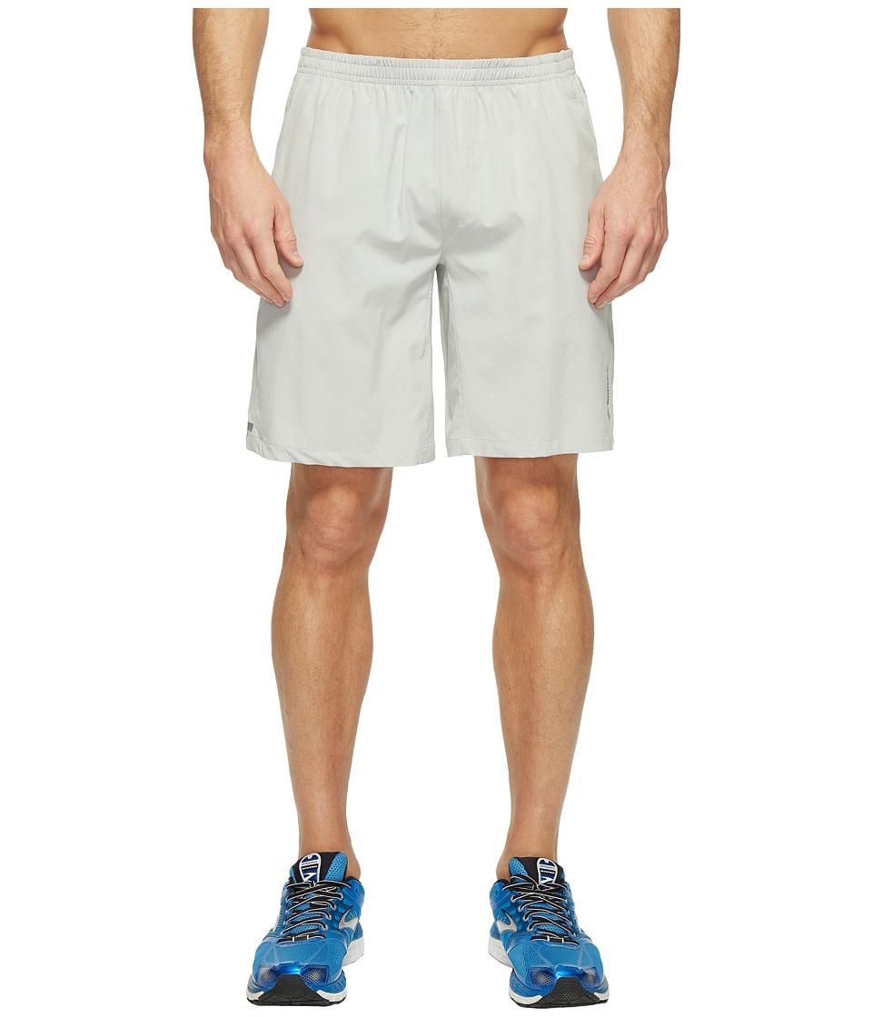 Brooks Rush 9 Shorts (Sterling) Men