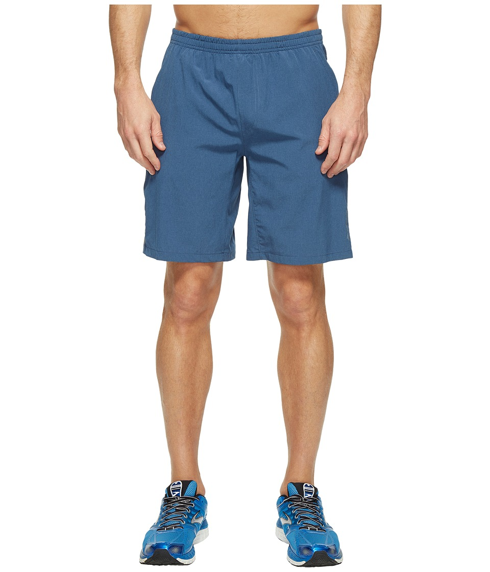 Brooks - Rush 9 Shorts (Heather Ink) Men's Shorts