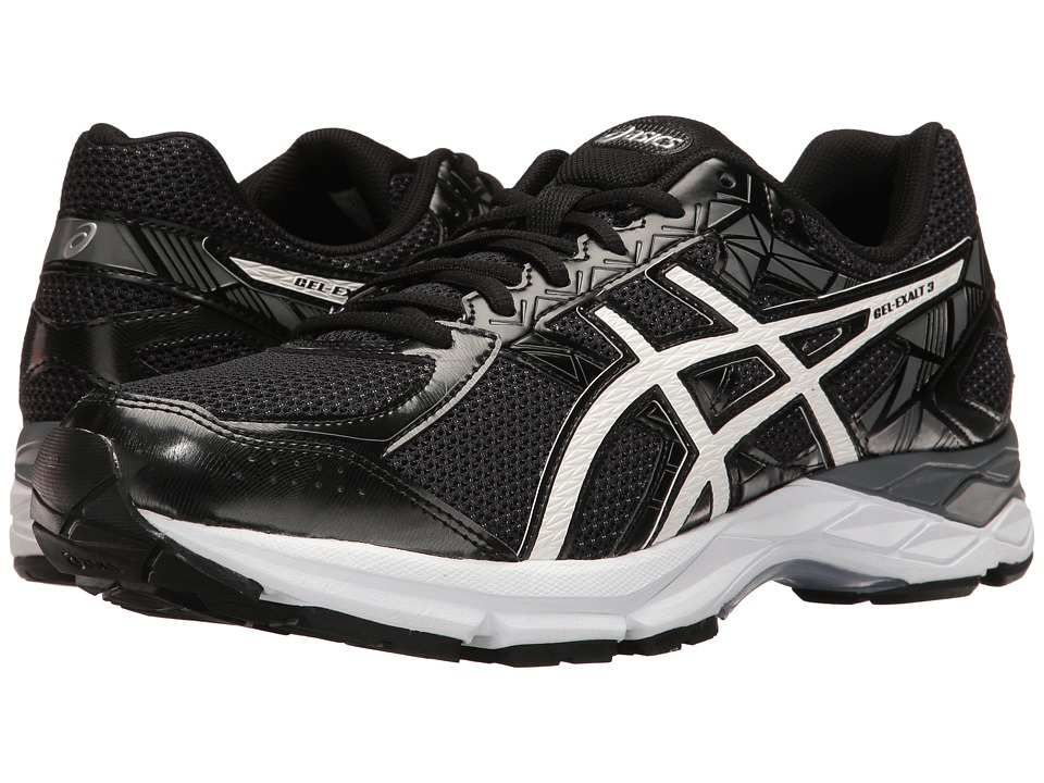 ASICS - Gel-Exalttm 3 (Black/White/Carbon) Men's Running Shoes
