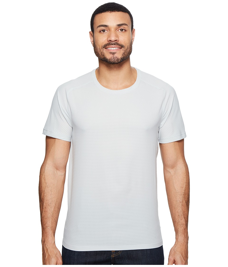 Mountain Hardwear - MHW AC Short Sleeve Tee (Grey Ice) Men's T Shirt