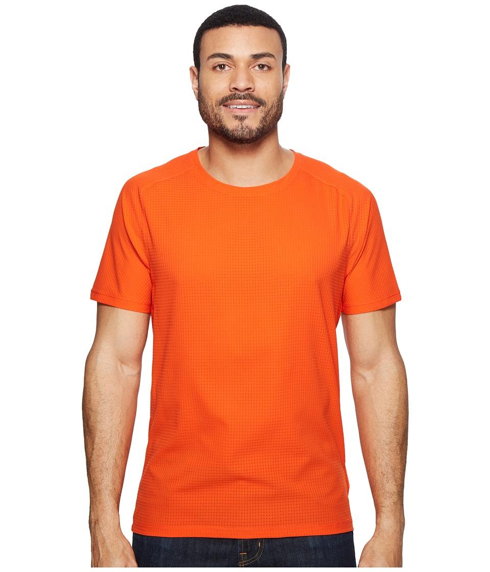 Mountain Hardwear MHW AC Short Sleeve Tee (State Orange) Men