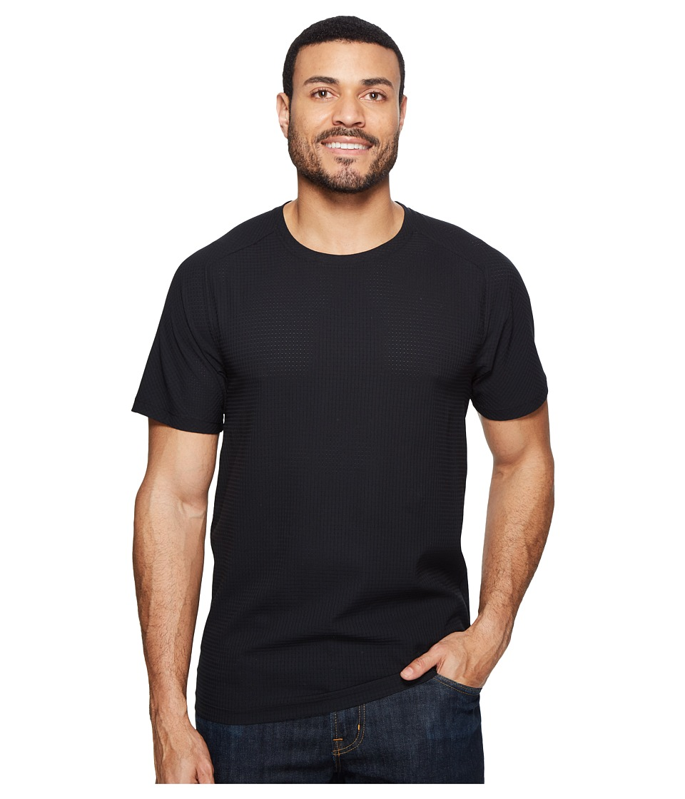 Mountain Hardwear - MHW AC Short Sleeve Tee (Black) Men's T Shirt