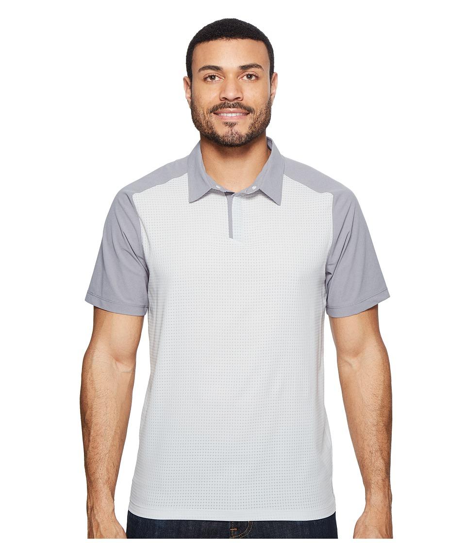 Mountain Hardwear - MHW AC Short Sleeve Polo (Grey Ice) Men's Short Sleeve Knit