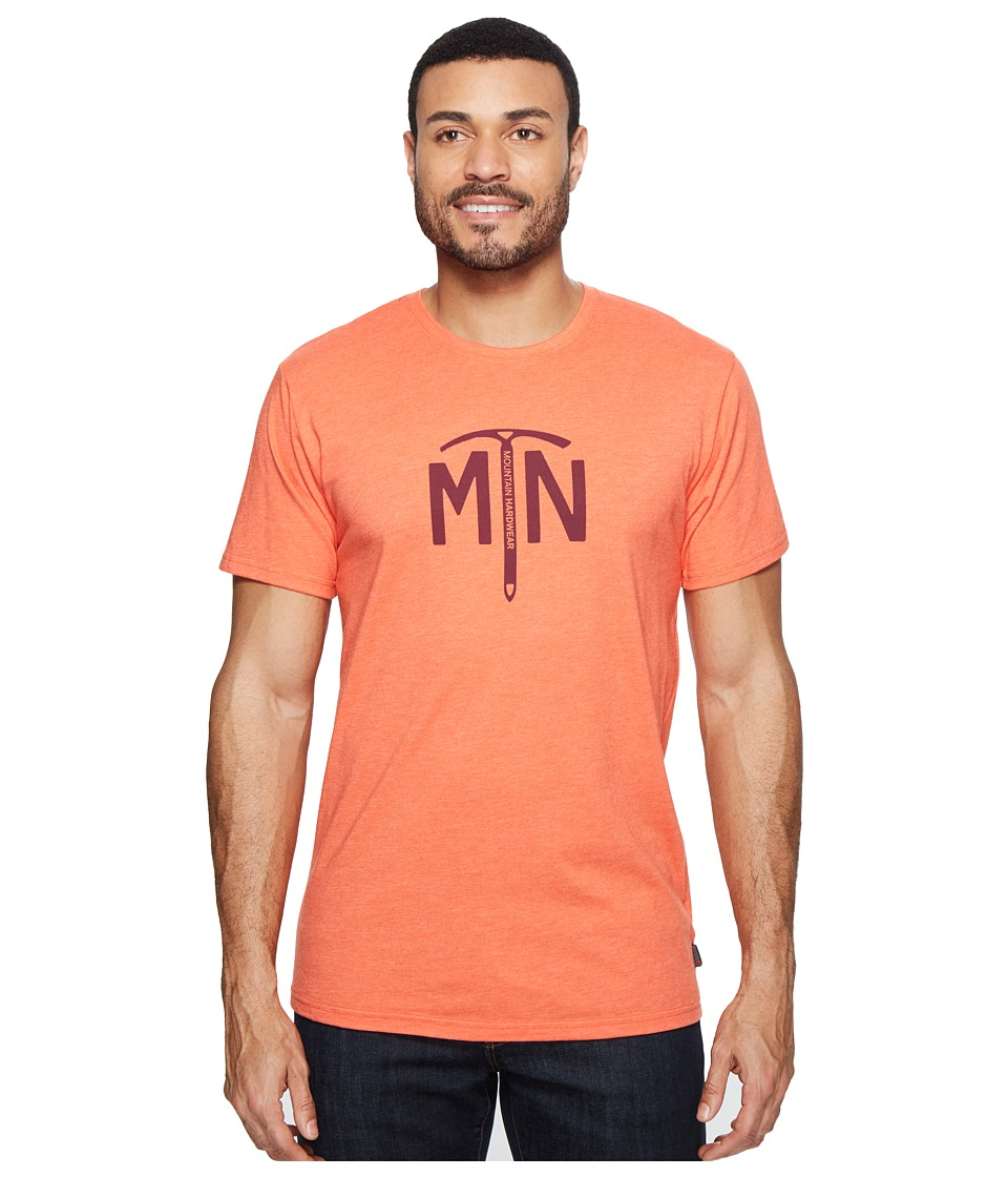 Mountain Hardwear - Hardwear Ice Axe Tee (Heather State Orange) Men's T Shirt